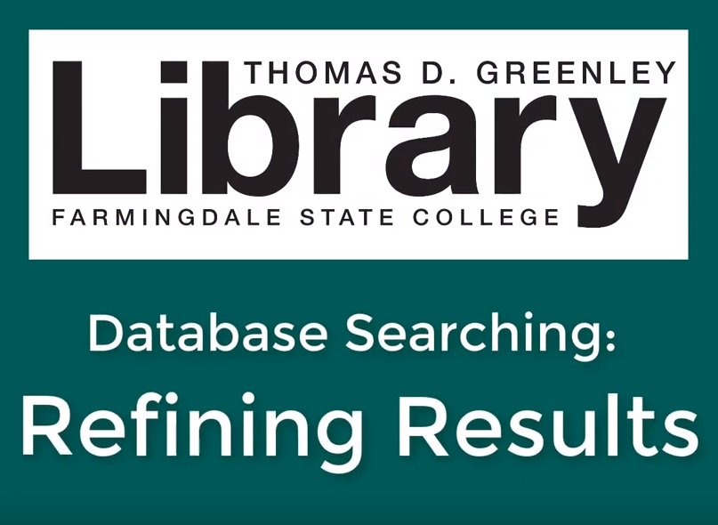 Refining Results in Databases image