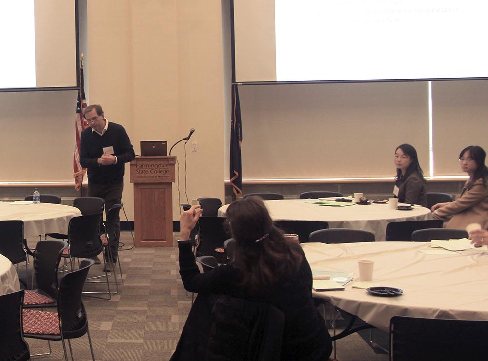 Dr. Cristian Sepulveda presenting.