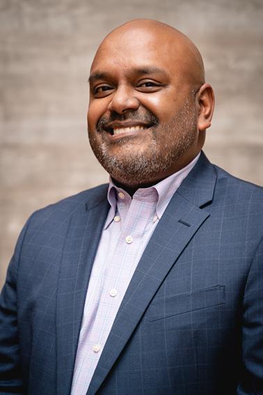 Sunil Samuel, Vice President for Enrollment Management & Student Engagement.