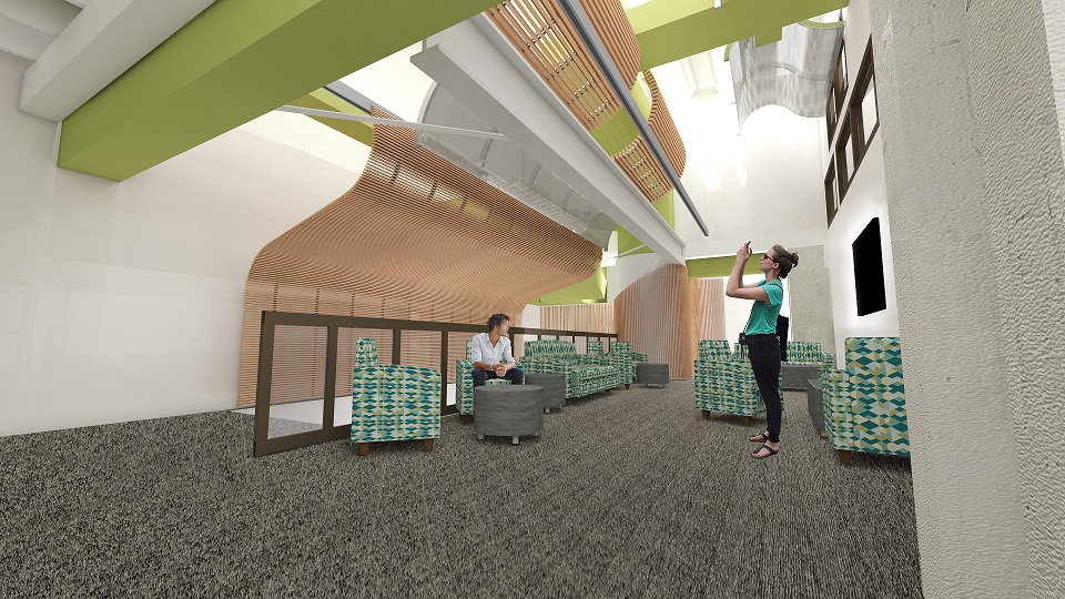 Greenley Student Lounge Concept