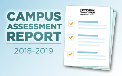 Campus Assessment Report papers with FSC logo at top